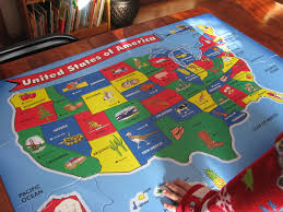 Usa Puzzle Map by Usa Studies Sarah U0027s Sweeties