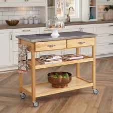stainless steel kitchen island cart home design and decorating stainless steel kitchen island cart stainless steel kitchen kitchen ideas