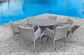Round Patio Furniture Set 5 Pc Round Dining Table Set I Shop Now I Mangohome