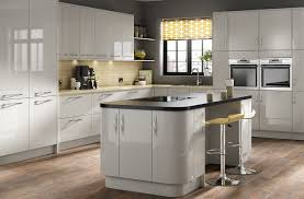 kitchen islands modern cheap gloss kitchens mustard yellow accent wall elegant kitchen