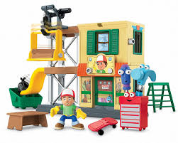 amazon fisher price disney u0027s handy manny u0027s workshop toys u0026 games