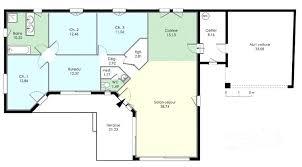 plan de maison 5 chambres plain pied plan maison 5 chambres plan etage maison provencale combles amenages