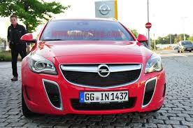 opel 2014 automotiveblogz 2014 opel insignia opc sports tourer spy shots photos
