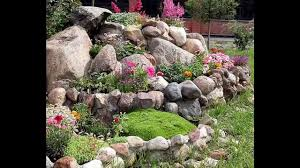 Alpine Rock Garden by Easy Building A Rock Garden Youtube