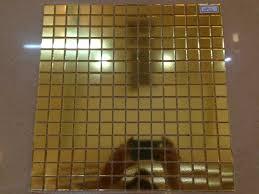jy hp01 bisazza square glass mosaic gold glass mosaic pattern wall
