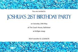 colors stylish birthday party invitation wording for 10 year old