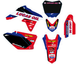 kit deco honda crf team lucas oil motor france honda http