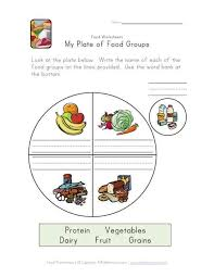 34 best food lessons images on pinterest worksheets food groups