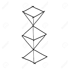 hand drawing sketch geometric shape royalty free cliparts vectors