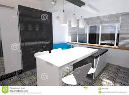 kitchen design stock illustration image 66910468