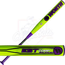 worth est comp slowpitch softball bat balanced westba
