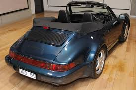 porsche 964 cabriolet for sale 1993 porsche 911 carrera 964 cabriolet 2 convertible 2dr man 5sp