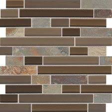 Back Splash Butternut Emperador Stone Radiance Stone And Glass - Daltile backsplash