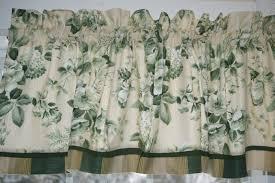 Green Valance Gilford Jay Yang Green Beige Floral Toile Valance 17