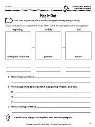 awesome collection of narrative writing worksheets grade 4 about