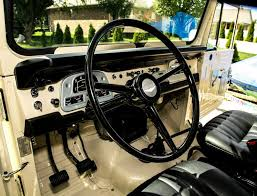 Toyota Land Cruiser Interior Toyota Land Cruiser 1972 4 4 Fj40 Frame Off Restoration Cream F