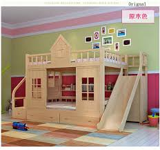 Aliexpresscom  Buy  Modern Solid Wood Childrens Bed Wood - Solid wood bunk bed