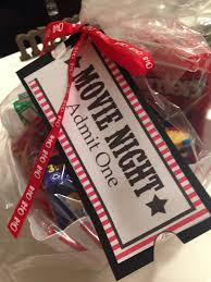 family movie night basket tag auction baskets festival