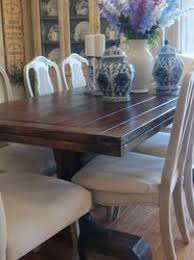 chalk painted dining table and chairs brokeasshome com