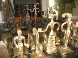 incredible antique chess set collectors weekly
