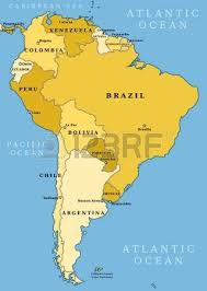 south america map with country names and capitals united states labeled map and capitals of the united maps within