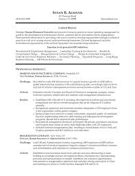 hr resume sample berathen com samples entry level to inspire you