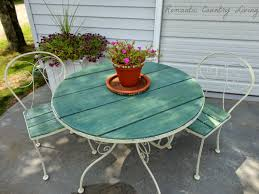 Glass Table Top For Patio Furniture Http Www Romanticcountryliving 2014 08 Adorable