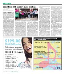 Columbia College Chicago Map by The Columbia Chronicle February 29 2016 By Student Publications