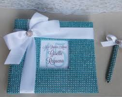 quinceanera guest book sweet 16 guest book etsy