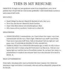 Funny Resume Examples by Footnote Please Send Us Your Funny Resume Jokes