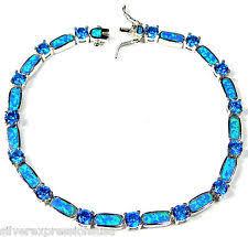 blue topaz bracelet images Blue topaz bracelet ebay jpg