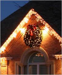 outdoor christmas garland with lights christmas wreaths lighted outdoor reviews industrial table ls