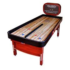 champion bank shot shuffleboard 7 ft game room guys