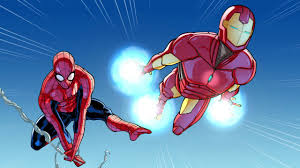 spider man u0026 iron man training 1 marvel video