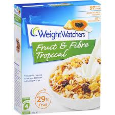 cuisine weight watchers weight watchers tropical fruit fibre 450g woolworths