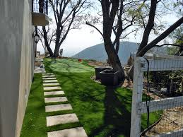 Backyard Putting Green Installation by Installing Artificial Grass Tortolita Arizona Backyard Putting
