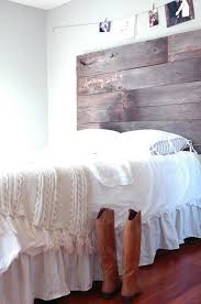 Wood Headboard Diy Diy Barn Wood Headboard Part Three Installed Fiveoeight Co