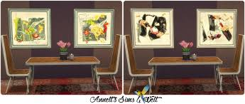 Dining Room Paintings by Sims 4 Cc U0027s The Best Dining Room Paintings Lizie By Annett85