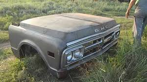 Vintage Ford Truck Parts For Sale - 1971 gmc truck front fenders hood grille clip for sale trade