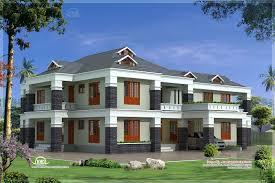 modern home design 4000 square feet feet luxury villa exterior kerala home design floor plans home