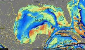 map of the gulf of mexico gulf of mexico faults the louisiana sinkhole bugle
