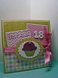 birthday card for my granddaughters 18th birthday scrapbook com