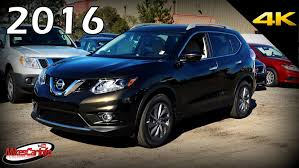 black nissan rogue 2016 2016 nissan rogue sl ultimate in depth look in 4k youtube