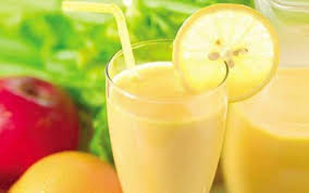 weight loss smoothie with apple lemon and grapefruit step to