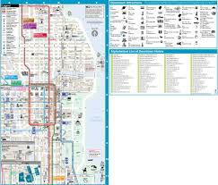 Chicago Elevated Train Map by Chicago Maps Illinois U S Maps Of Chicago