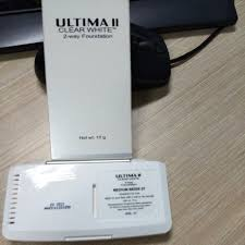 Bedak Ultima Ii Clear White ultima ii clear white 2 way foundation 10gr 07 medium beige daftar