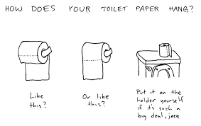 Toilet Paper Roll Meme - image 78281 the great toilet paper debate know your meme