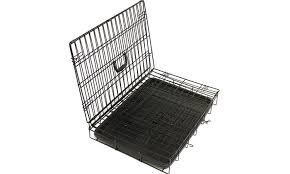 black friday dog crate collapsible metal pet crate groupon goods