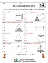 27 best 3d shape worksheets images on pinterest 3d shapes