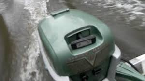 1954 johnson seahorse 10 hp outboard motor youtube
